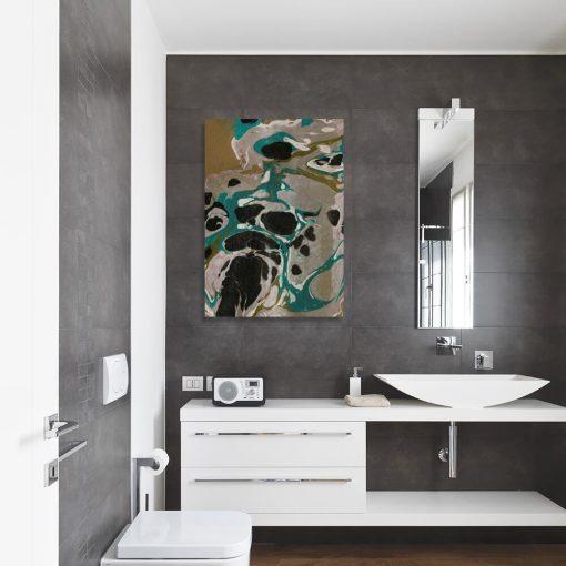 Obraz nowoczesny z abstrakcją