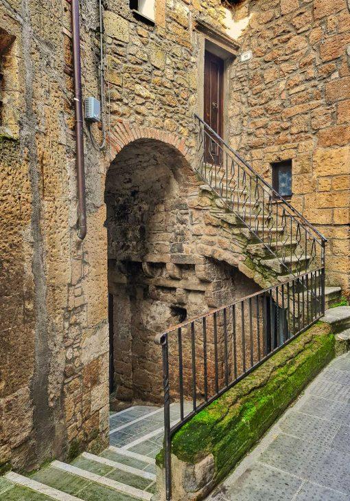 Obraz Castiglione d'Orcia i architektura