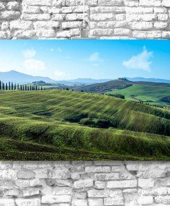 Zielone łąki - Obraz do jadalni