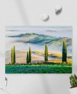Obraz - Górski krajobraz latem do salonu
