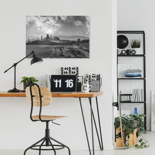 Obraz z krajobrazem do dekoracji biura