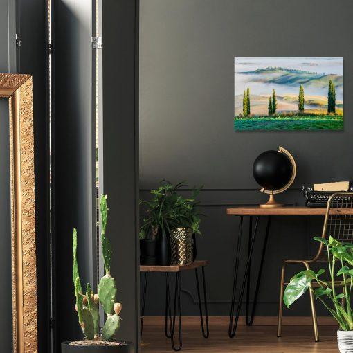 Obraz - Górski krajobraz latem do jadalni