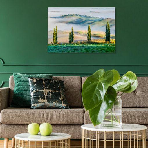 Obraz - Górski krajobraz latem do gabinetu