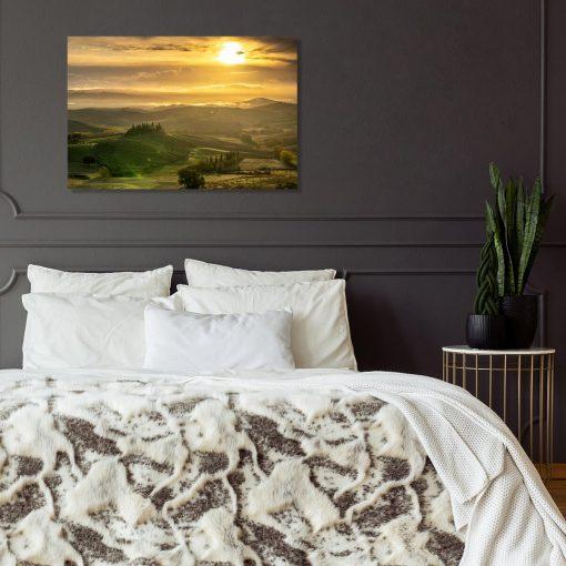 Obraz do ozdoby sypialni z Toskanią