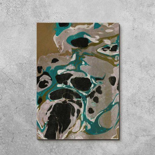 Abstrakcyjny obraz do nowoczesnego salonu