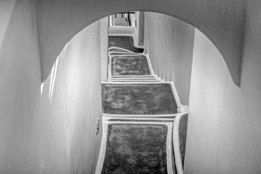 Obraz z motywem schodów do dekoracji ścian biura