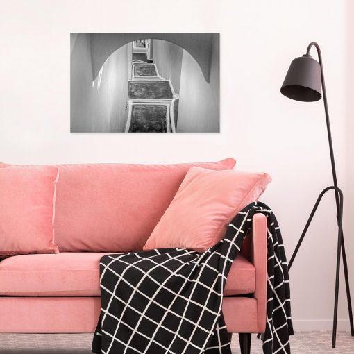 Obraz z motywem schodów do dekoracji gabinetu