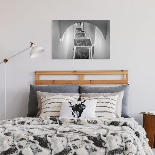 Obraz z motywem schodów do dekoracji sypialni