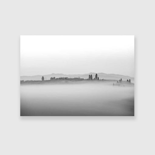 Obraz krajobraz toskańskie wzgórza