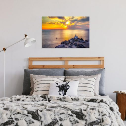 Obraz - Wyspa Santorini i morze do biura