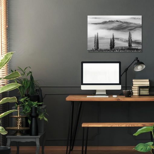 Obraz z motywem mgły do biura