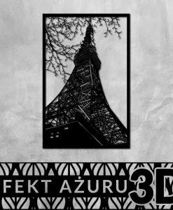 Wieża Eiffla wycinany obraz