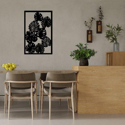Panel dekoracyjny 3d z liśćmi