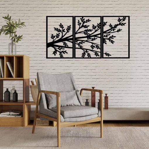 Drzewna dekoracja 3d