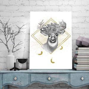 Obrazy imitujące złoto