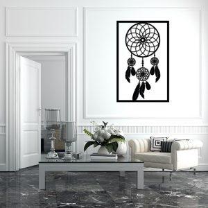 Obraz ażurowy z mandalami