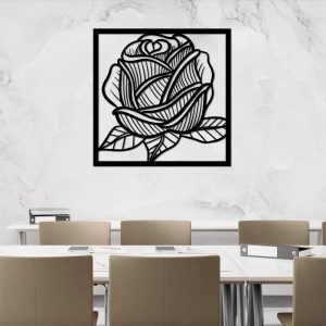 Panel dekoracyjny z motywem botanicznym